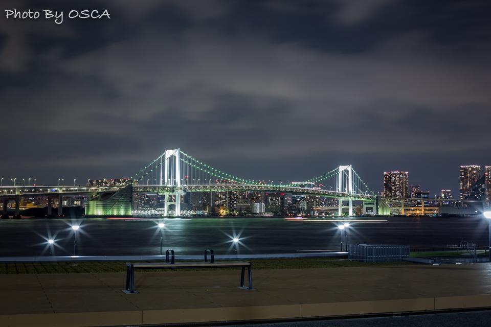 東京湾の新夜景スポット「豊洲ぐるり公園」を夜景散歩する - 夜景散歩
